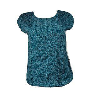 ANN TAYLOR LOFT Blue Sleeveless Top Size XS